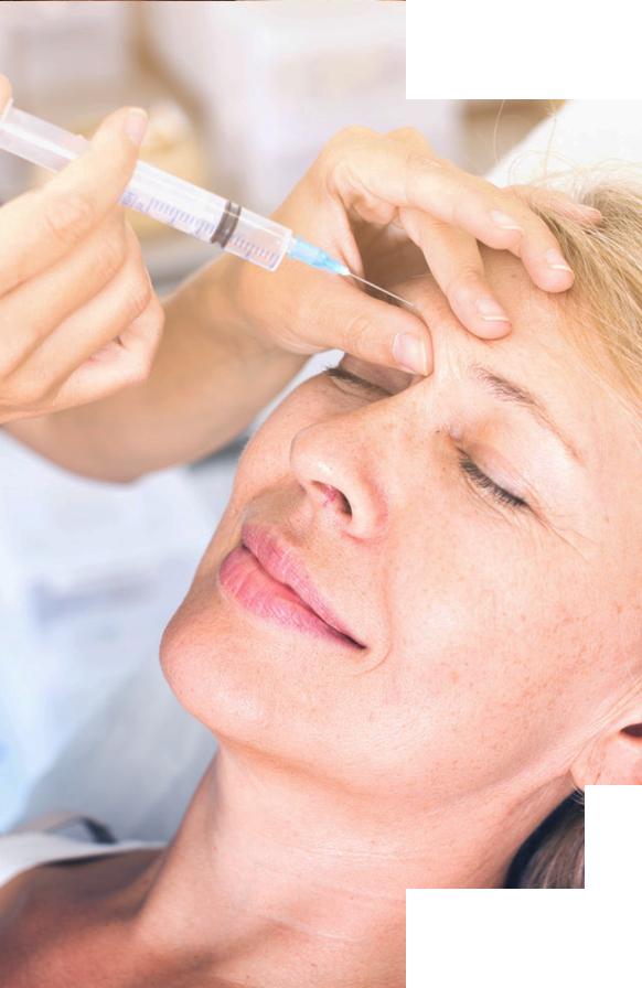 Implante facial com ácido hialurônico