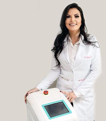 Dra Karen Goulart - Aplicação de Luz Pulsada Claris